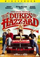 The Dukes of Hazzard - British DVD movie cover (xs thumbnail)