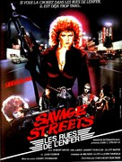 Savage Streets - French Movie Poster (xs thumbnail)