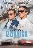 Ford v. Ferrari - Slovenian Movie Poster (xs thumbnail)