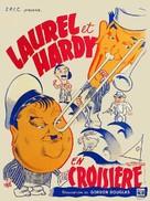 Saps at Sea - French Movie Poster (xs thumbnail)