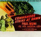 Commandos Strike at Dawn - poster (xs thumbnail)