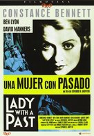 Lady with a Past - Spanish DVD cover (xs thumbnail)