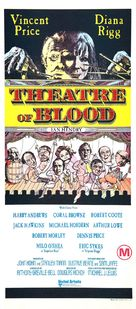 Theater of Blood - Australian Movie Poster (xs thumbnail)