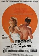 Rachel, Rachel - Danish Movie Poster (xs thumbnail)