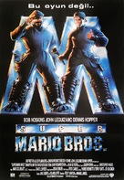 Super Mario Bros. - Turkish Movie Poster (xs thumbnail)