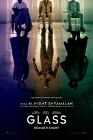 Glass - Danish Movie Poster (xs thumbnail)