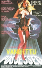 The Possessed - Finnish VHS movie cover (xs thumbnail)