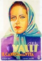 Il canto della vita - Italian Movie Poster (xs thumbnail)