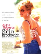 Erin Brockovich - Spanish Movie Poster (xs thumbnail)