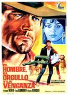 Uomo, l'orgoglio, la vendetta, L' - Spanish Movie Poster (xs thumbnail)