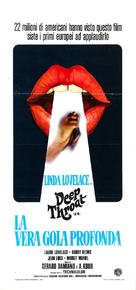 Deep Throat - Italian Movie Poster (xs thumbnail)