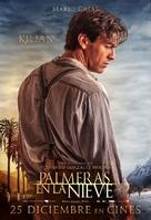 Palmeras en la nieve - Spanish Movie Poster (xs thumbnail)