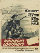 The Far Horizons - French Movie Poster (xs thumbnail)