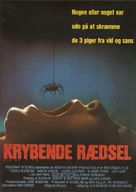 Deadly Blessing - Danish Movie Poster (xs thumbnail)