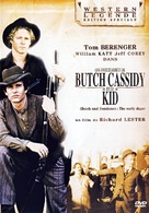 Butch Cassidy and the Sundance Kid - French DVD movie cover (xs thumbnail)