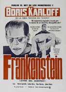 Frankenstein - Spanish Movie Poster (xs thumbnail)