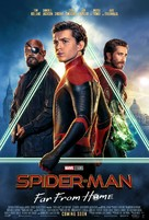 Spider-Man: Far From Home - International Movie Poster (xs thumbnail)