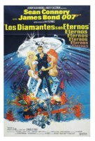 Diamonds Are Forever - Argentinian Movie Poster (xs thumbnail)