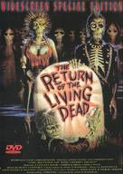 The Return of the Living Dead - German DVD movie cover (xs thumbnail)