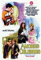 Amours célèbres - Spanish Movie Poster (xs thumbnail)