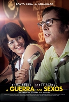 Battle of the Sexes - Brazilian Movie Poster (xs thumbnail)