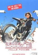 Charlie's Angels: Full Throttle - German Teaser movie poster (xs thumbnail)