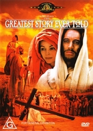 The Greatest Story Ever Told - Australian Movie Cover (xs thumbnail)