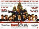 Love Actually - British Movie Poster (xs thumbnail)