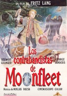 Moonfleet - Spanish VHS movie cover (xs thumbnail)