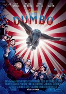 Dumbo - Mexican Movie Poster (xs thumbnail)