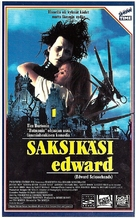 Edward Scissorhands - Finnish VHS movie cover (xs thumbnail)