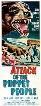 Attack of the Puppet People - Theatrical movie poster (xs thumbnail)