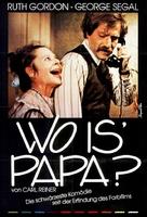 Where's Poppa? - German Movie Poster (xs thumbnail)