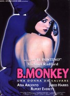 B. Monkey - Italian Movie Poster (xs thumbnail)