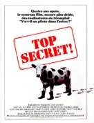 Top Secret - French Movie Poster (xs thumbnail)