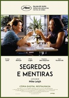 Secrets & Lies - Portuguese Movie Poster (xs thumbnail)