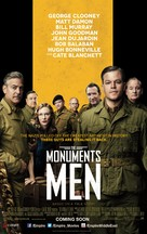 The Monuments Men - Theatrical movie poster (xs thumbnail)