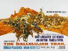 The Hallelujah Trail - British Movie Poster (xs thumbnail)