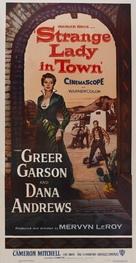 Strange Lady in Town - Movie Poster (xs thumbnail)