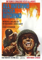 Mission to Death - Italian Movie Poster (xs thumbnail)