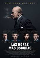 Darkest Hour - Argentinian Movie Poster (xs thumbnail)