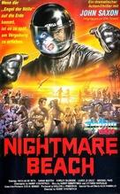 Nightmare Beach - German VHS movie cover (xs thumbnail)