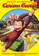 Curious George - DVD cover (xs thumbnail)