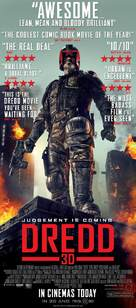 Dredd - British Movie Poster (xs thumbnail)