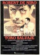 Raging Bull - Spanish Movie Poster (xs thumbnail)
