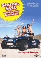 Sonne, Sylt und kesse Krabben - German DVD cover (xs thumbnail)