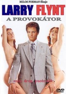 The People Vs Larry Flynt - Hungarian DVD cover (xs thumbnail)
