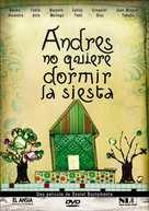 Andrés no quiere dormir la siesta - Argentinian DVD cover (xs thumbnail)