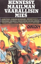 Hennessy - Finnish VHS movie cover (xs thumbnail)