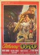 Johnny Oro - Italian Movie Poster (xs thumbnail)